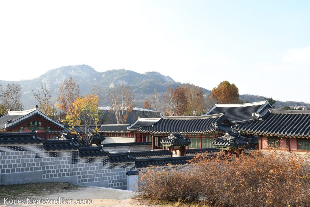 Taewonjeon vicinity at Gyeongbokgung Seoul South Korea