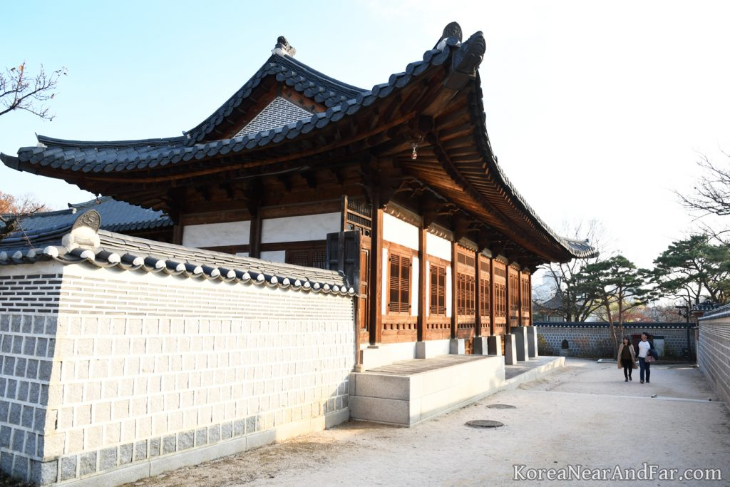Korean Historical Buildings at Gyeongbokgung