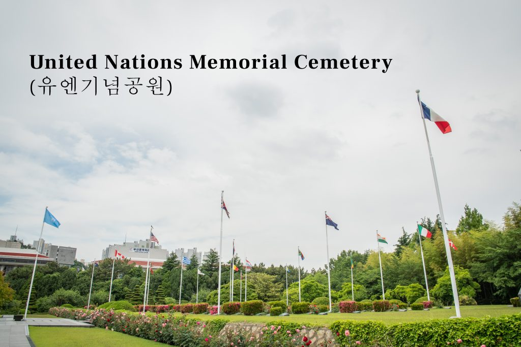 United Nations Memorial Cemetery in Busan South Korea