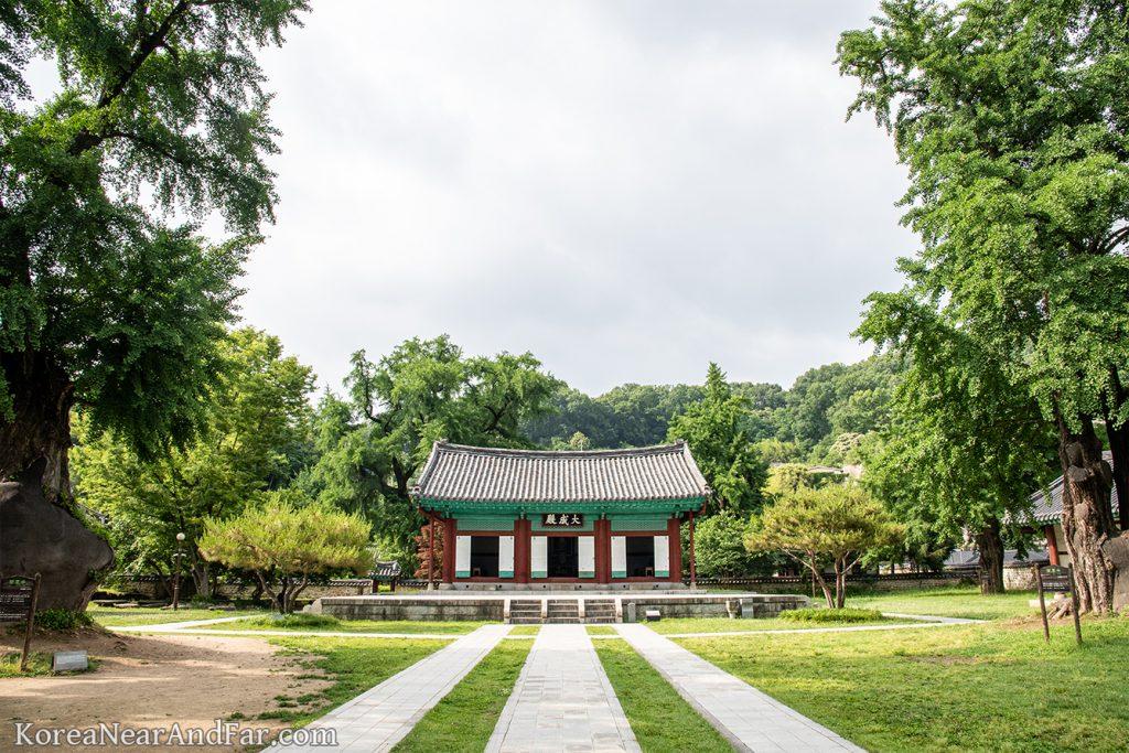 Daeseongjeon (Shrine) at Jeonju Hyanggyo, Jeonju, South Korea