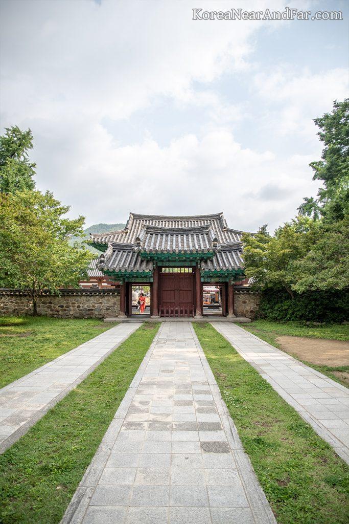 Ilwolmun at Jeonju Hyanggyo, Jeonju, South Korea